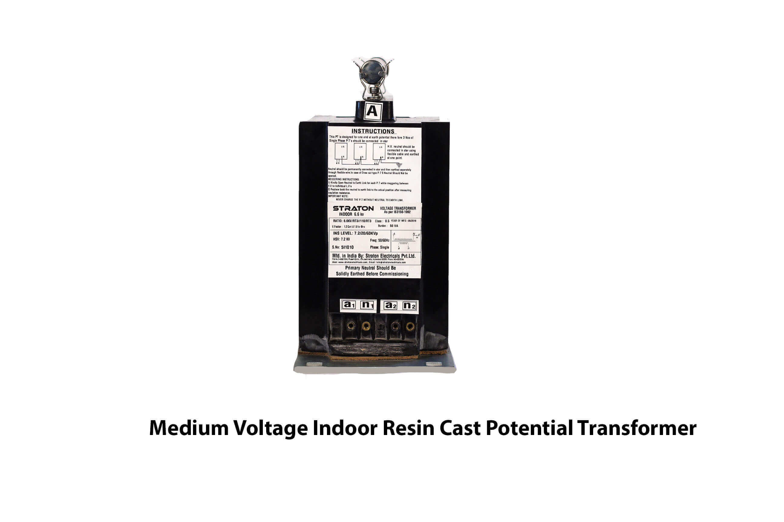 Medium Voltage Indoor Resin Cast Potential Transformer